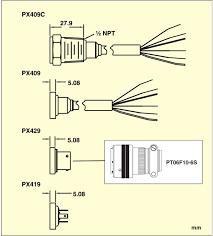 wet wet differential pressure transducer px409 differential pressure transducer output connector options