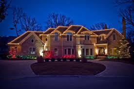 Outside Christmas Lights American Holiday Lights Installation Company Chicago Residential