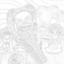 Best coloring pages from different lol surprise series. Lol Dolls Coloring Pages Mimi Panda