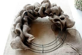 ideas additional instructions for original burlap wreath