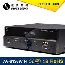 home theater power amplifier. wifi 5.1ch home theater audio karaoke power amplifier with decoder optical coaxial function