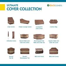 duck covers ultimate 74 in l patio