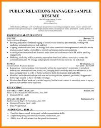 public relations sample resume 12 public relations resumes samples the stuffedolive restaurant
