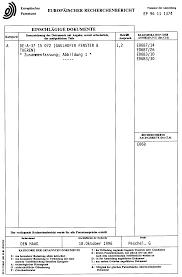 Fenstertür Patent 0753641