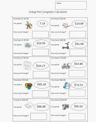 Third Grade Money Worksheet | K-5 Computer Lab Technology Lessons ...