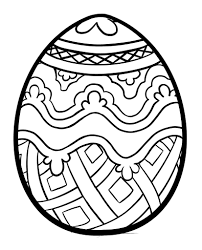 Unique Spring Easter Holiday Adult Coloring
