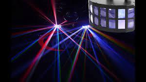 LED Derby effect light 2x15W RGBW for Club/DJ - YouTube