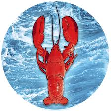 Lobster & Ocean Screen Door Magnets (5.75