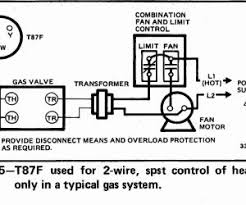hanging honeywell 2 wire thermostat getrithm me Mercury Thermostat Wiring Diagram honeywell t87f thermostat wiring diagram for 2 wire spst control of heating only in millivolt and honeywell mercury thermostat wiring diagram