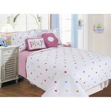 colorful polka dot bedding sets