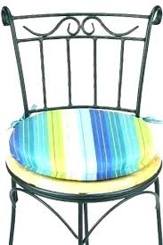 S Bistro Chair Cushion Charm Cushions 15 Inch Outdoor   How To Make Round