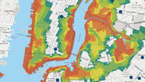 nyc flood zone map  nyc flood map (new york  usa)