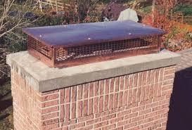 multi flue copper chimney cap