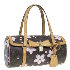 Louis Vuitton Size Chart Bag Louis Vuitton Monogram Canvas Limited Edition Cherry Blossom Papillon Bag