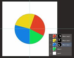 Making Pie Chart Graph In Photoshop Photoshop Tutorials