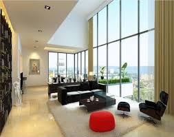 Living Room Modern Apartment Ideas Black Eiforces - Big living room furniture