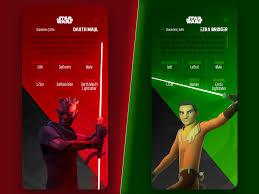 Star Wars Ui Design Star Wars Ui By Berk On Dribbble