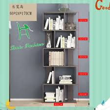 office bookshelf. Modern Office Bookshelf Simple Table Shelf Floor Free Combination Wood Bookcase S
