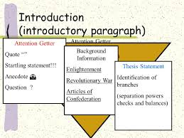 government final essay review ppt video online  2 introduction introductory paragraph