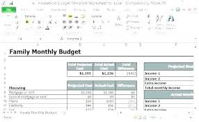monthly household expenses sheet personal budget excel spreadsheet free monthly household expenses