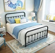 Full Size Iron Bed - Amazon.com