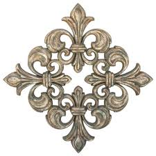 fleur de lis home d cor and the elegant aspect of its appearance
