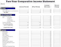 profit and loss form simple simple income statement template