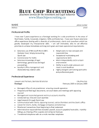 Sample Litigation Paralegal Resume Sample Resume Legal Assistant Experience Professional Paralegal 17
