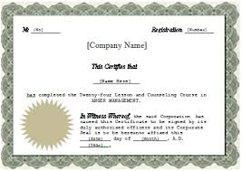 Professional Certificates Templates Professional Development Certificate Template And Management