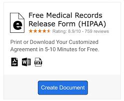 Sample Medical Records Release Form 10 Medical Release Forms Free Sample Example Format