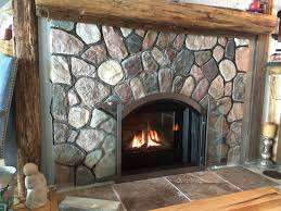 glass fireplace doors denver