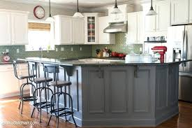 diy kitchen cabinets ideas examples fashionable painted kitchen cabinet ideas makeover reveal charcoal gray island decoration