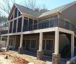 lake house floor plans with walkout basement elegant walk out basement 2 lake house of