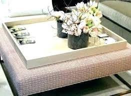 oversized ottoman tray wood