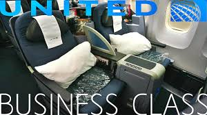 United Airlines Business Class New York To London Boeing 767 400er