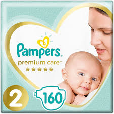 <b>Pampers Подгузники Premium</b> Care 4-8 кг (размер 2) 160 шт ...