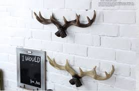 High Quality Coat Rack high quality resin antler design clothes rack coat hanger clothes 58