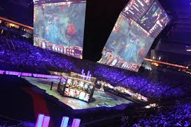 e sports dota 2 competition takes over keyarena city living seattle