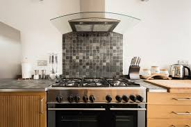 a kitchen or kitchenette at the saint giles haunt bright 3bdr townhouse