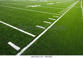 artificial turf field. An Astro Turf Football Field Artificial