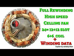 full rewinding high sd celing fan