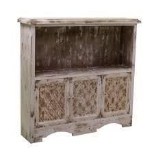 Mobile soggiorno con 3 ante e vano a giorno in legno cm
