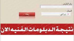 نتيجة الدبلومات الفنية 2021 بالاسم ورقم الجلوس فني تجارة وصناعي وزراعي -  بوابة مولانا