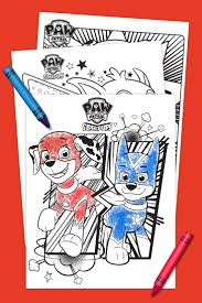 Super Pups Coloring Pack