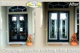 exterior door glass panel inserts front doors glass entry door with glass double front entry doors