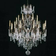 how to clean crystals on chandelier a crystal