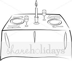 dining room table clipart black and white. Dining Room Table Clipart Black And White