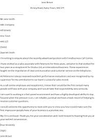 Call Center Cover Letter Example Call Centre Operator Cover Letter Example Learnist Org