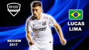 LUCAS LIMA   Santos   Brilliant Goals, Speed, Skills, Assists