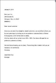 Formal Party Invitation Letter Sample Invitation Card
